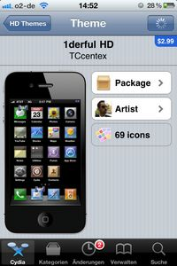 Cydia-Themes-Übersicht-Theme