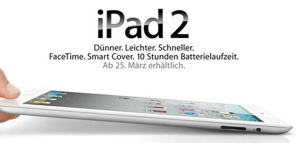 iPad 2 - Verkaufsstart