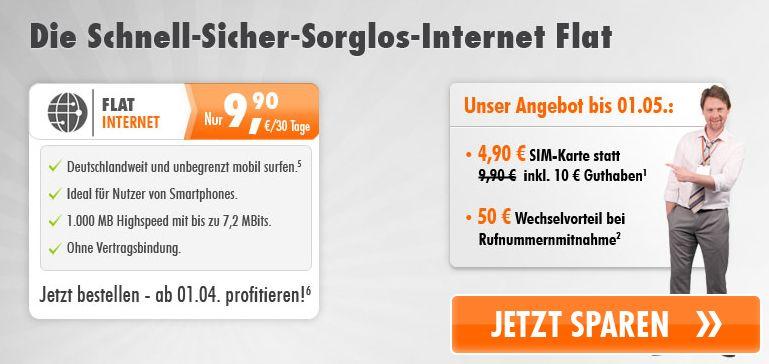 simyo internet flat