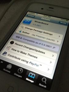 Winterboard 0.9.3901 unter iOS 5