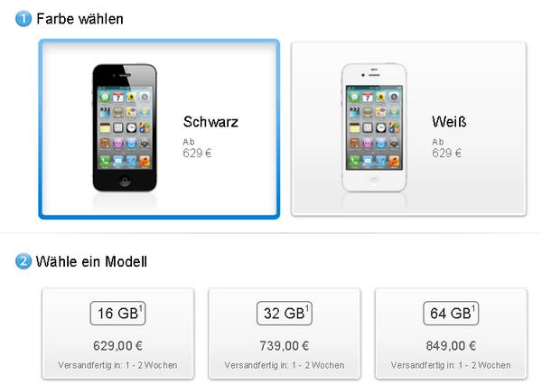 iPhone 4S - Apple Store - Wartezeiten