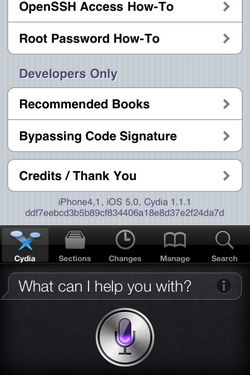 iPhone 4S - Jailbreak