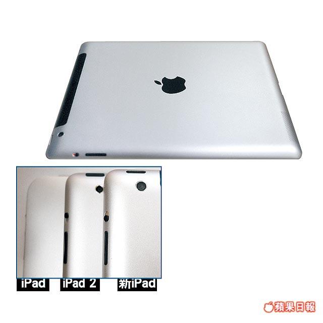 iPad 3 Backcover