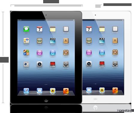 Das neue iPad - Front